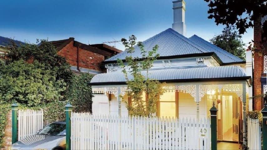 Victorian Cottage - South Yarra - Hus