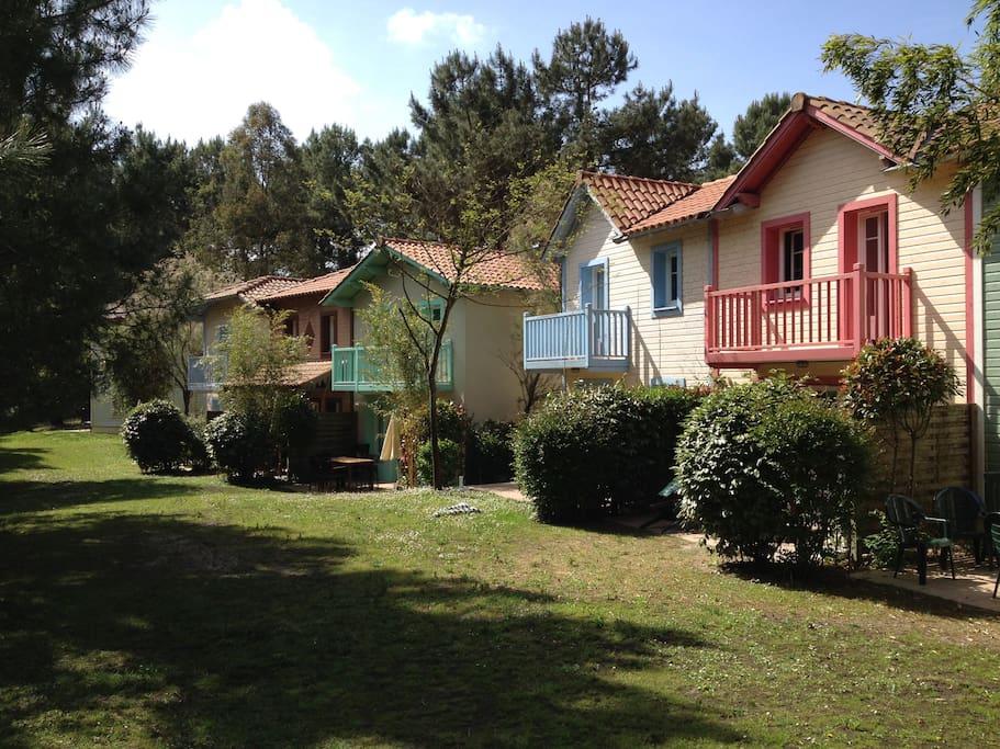 Villa bleue au calme