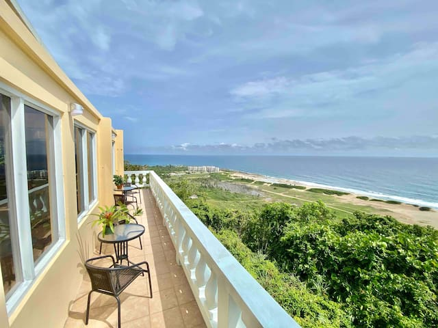 Amazing Spanish Ocean View 1bd Apt in Mansion!