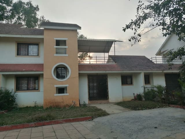2BHK Row House with over 2000sqft lawn