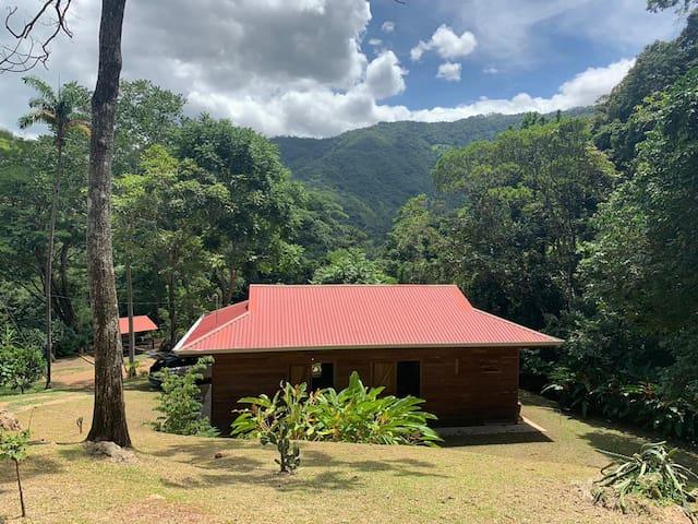 Casa del Mundo, una casa típica costarricense.