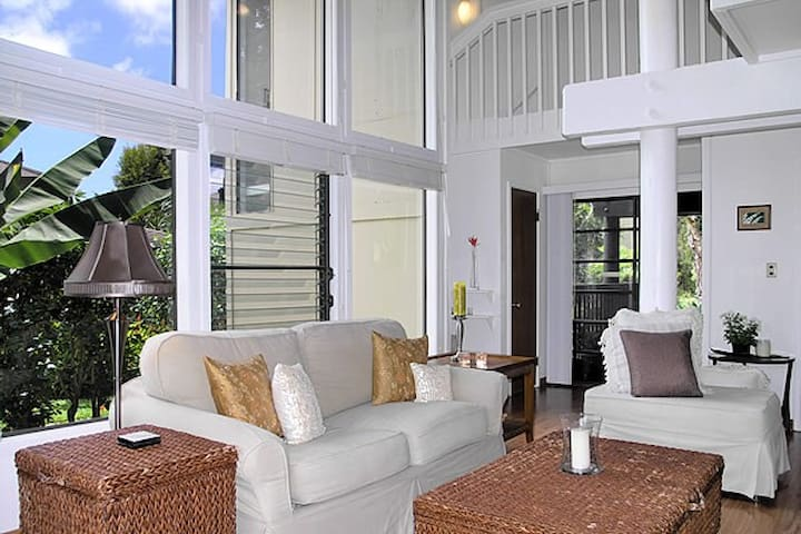 Light, Bright & Airy, Large, Beach Cottage Condo - Princeville - Condo