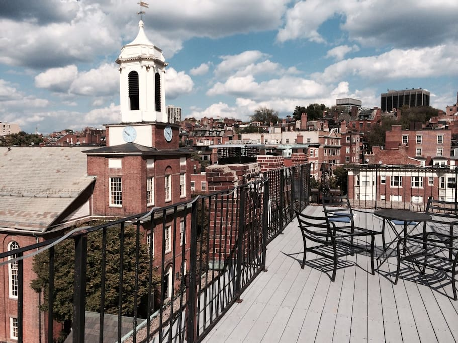 Beacon Hill House Huge Roof Deck Apartments For Rent