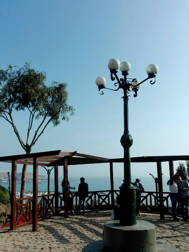 Mirador, linda vista de Barranco