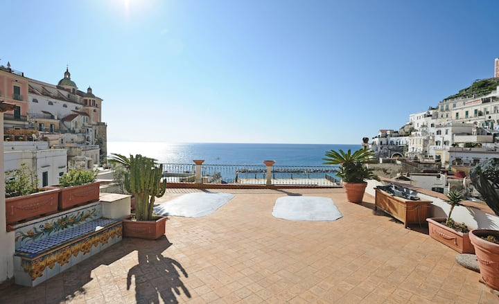 ATRANI Sea View with large terrace