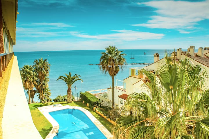 Luxury Frontline beach  apartment. - Benalmádena - Appartamento