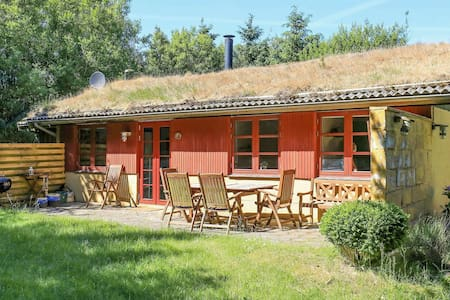 Maison de vacances moderne avec terrasse privée à Blokhus