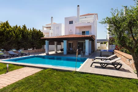 Lindos Beach Villa - Private Sandy Beach