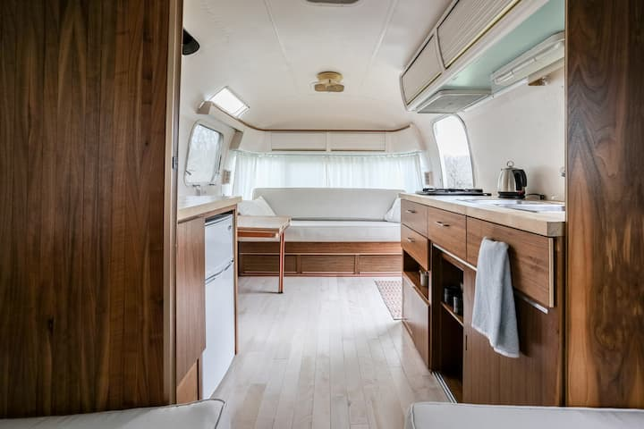 Cute and Cozy Vintage Austin Airstream