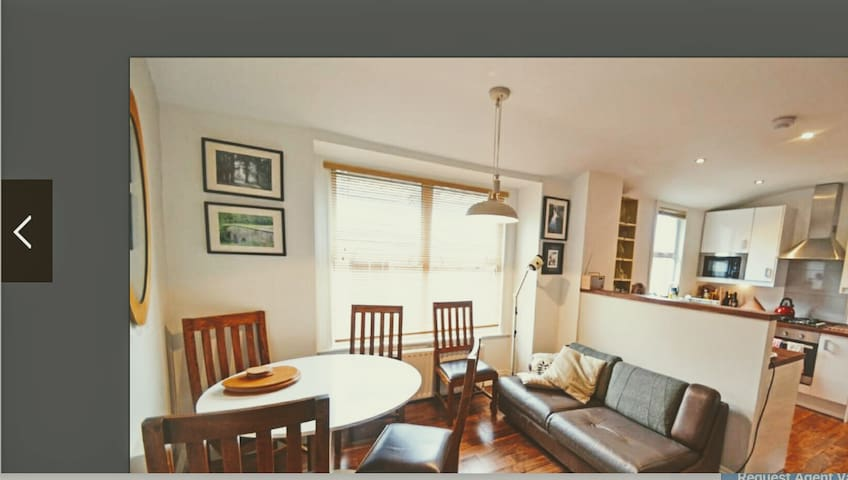 Double  Bedroom good Connections - London - Flat
