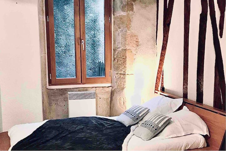 Charmant studio très calme centre historique