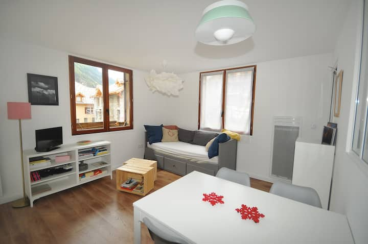 Le lodge - Studio in the heart of the village with a view of the Meije
