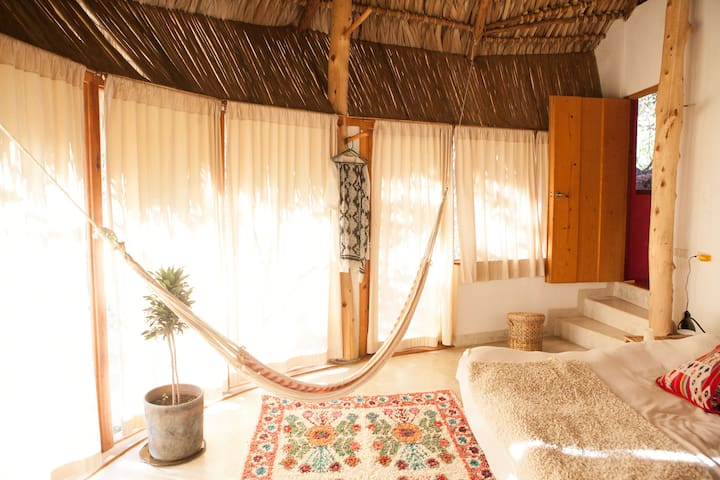 Bungalow with outdoor Jacuzzi - San Marcos La Laguna - Ev