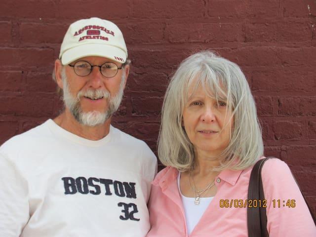 Reg and Marlene