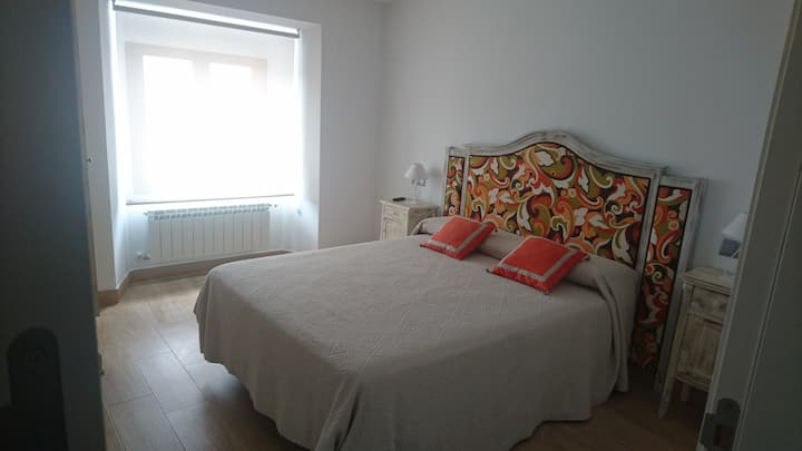Apartamento adosado a la muralla de Ávila