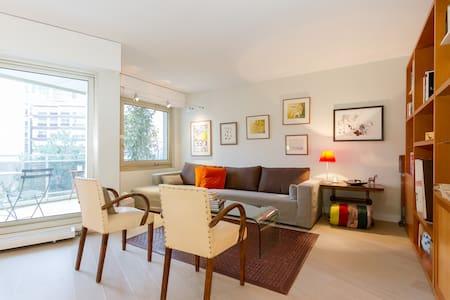 Grand T2 de 60 m2 charme + terrasse Montparnasse. - Paris