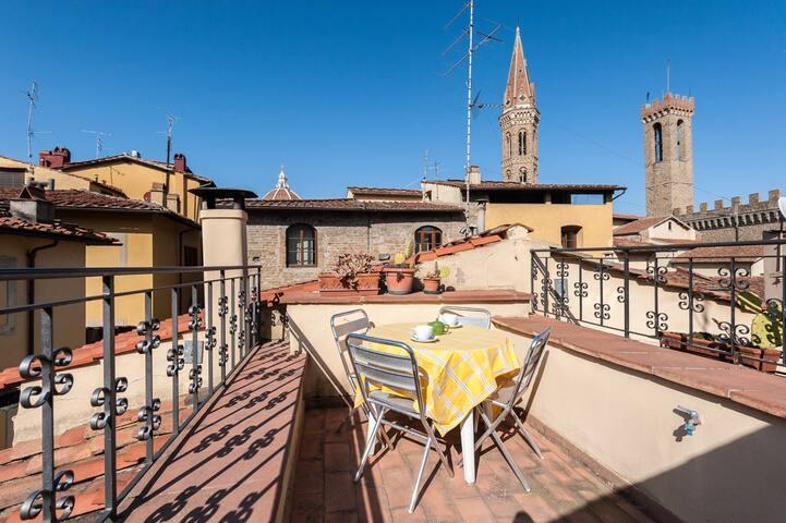 PIAZZA SIGNORIA SUITE WITH TERRACE - Florencia - Apartamento