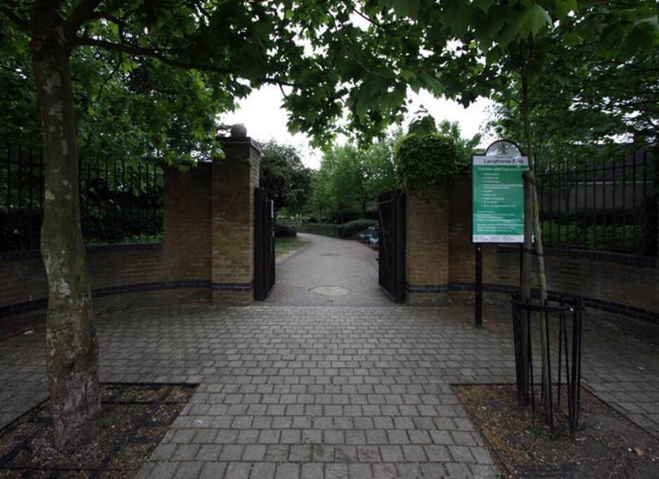 Longthorne Park, near the house  - photography by John Salomon