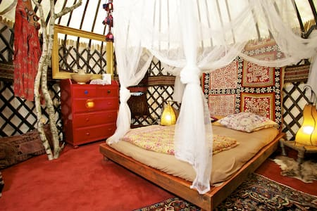 original old Afghani yurt  -cool