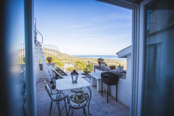 Villa Manganaro Gargano - ROMANTICO ATTICO BLU'