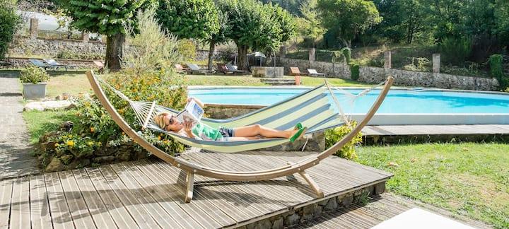BioSpazio Villa with POOL, FREE BIKES and PARKING