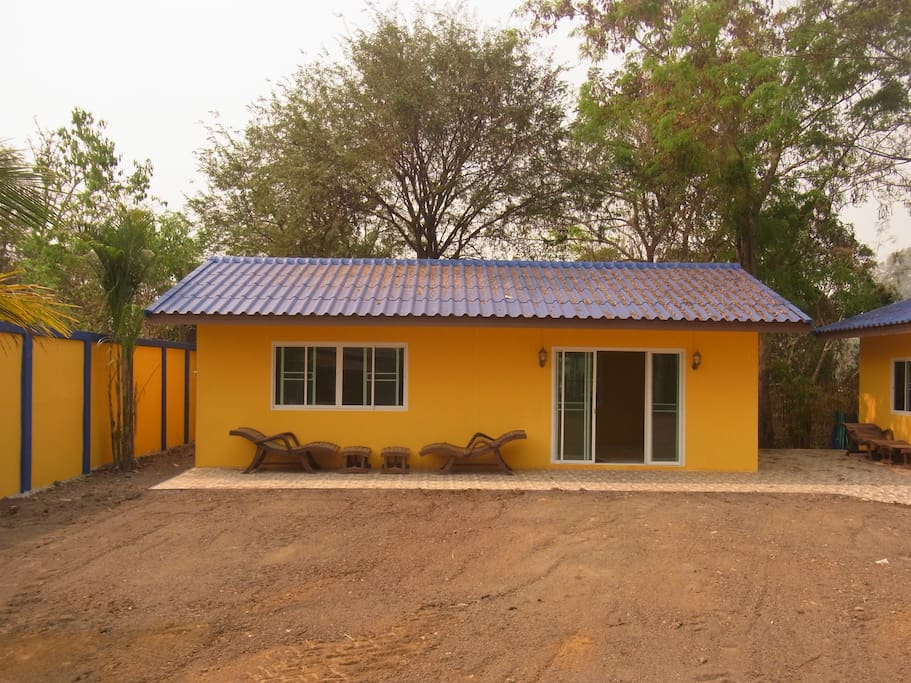 own private house ,newly built