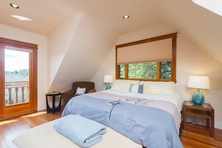 The Zen Suite in the Redwoods