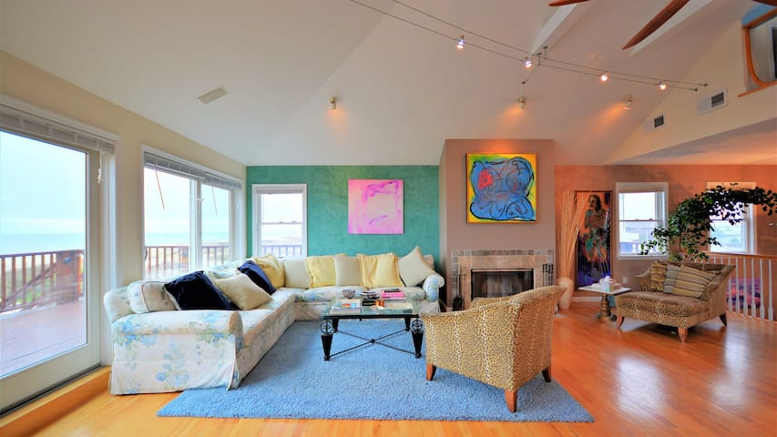 New Listing: Bright & Elegant Home Near Town & Beach w/ Heated Pool, Hot Tub, & Waterfront Views