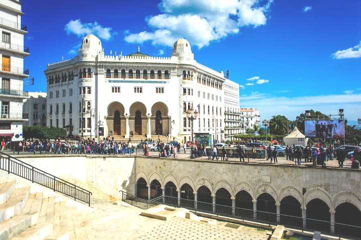 THE BIG POST OF ALGIERS  RUE MICHELET CENTRE