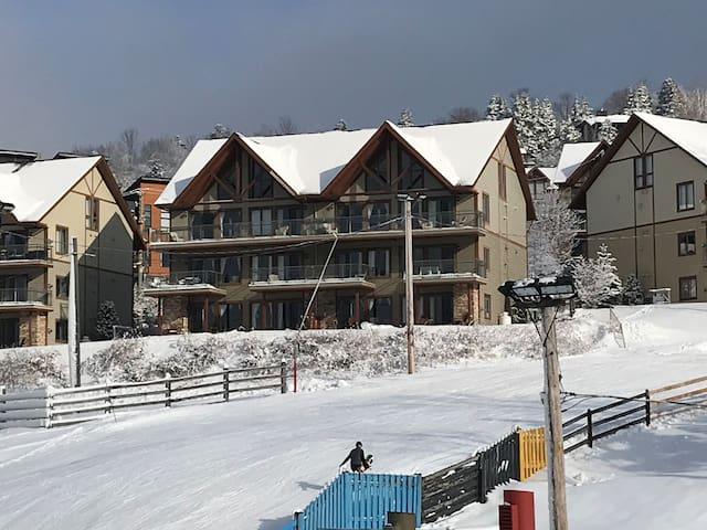 Bromont-Condo sur la montagne