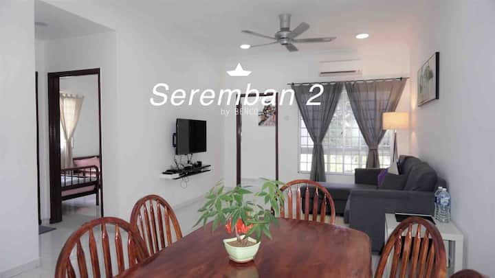 Seremban 2 Central Park 3 Bedrooms Apartment