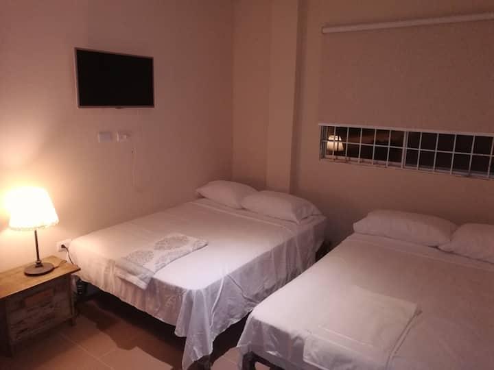11-One: Habitación simple entrada 11 Punta Blanca