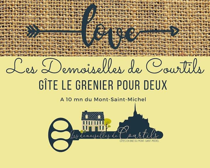 Le grenier pour deux - Gîte Mont-Saint-Michel