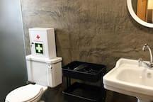 salle d'eau.