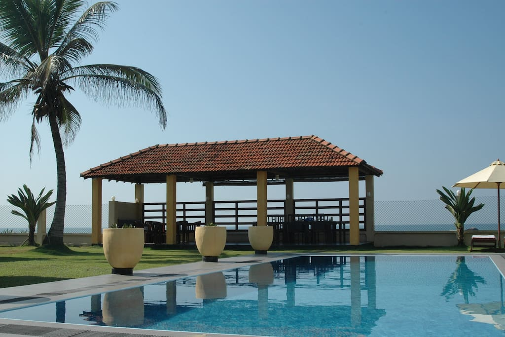 The Old Lady at the Sea , beach front villa