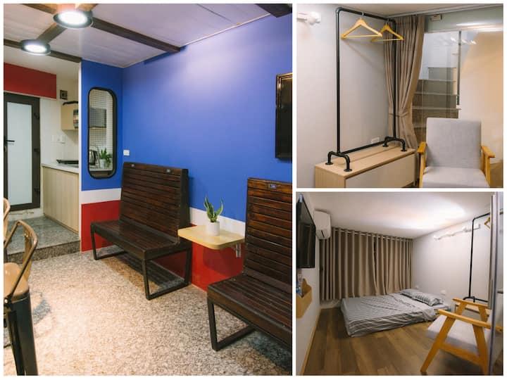 DADIA TRAIN/ SPRING ROOM/ cozy centre home Hanoi