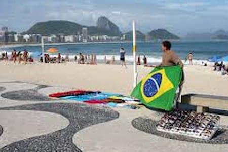 *Quarto Aconchegante Copacabana Rio* - Rio de Janeiro - Apartment