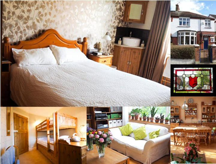 B&B 2 rooms, perfect for a family or 4 friends