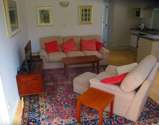 Sunny 1-bed apartment close to beaches and village - Auckland - Apartamento
