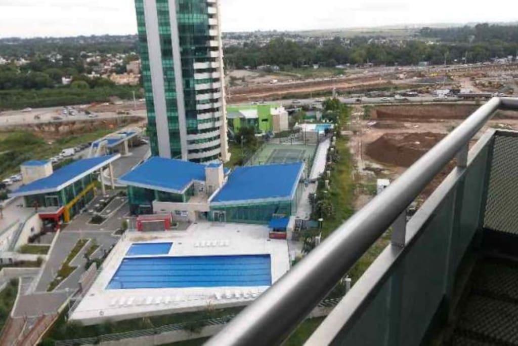 vista Sur balcon