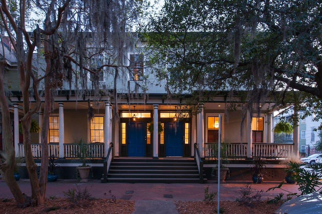 Twilight in Savannah