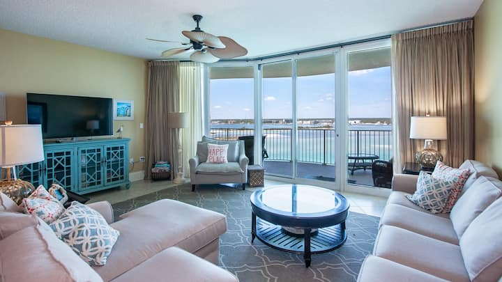 Bay Views from a Private Balcony Oasis | Complimentary Boat Slip w/ Every Stay!!