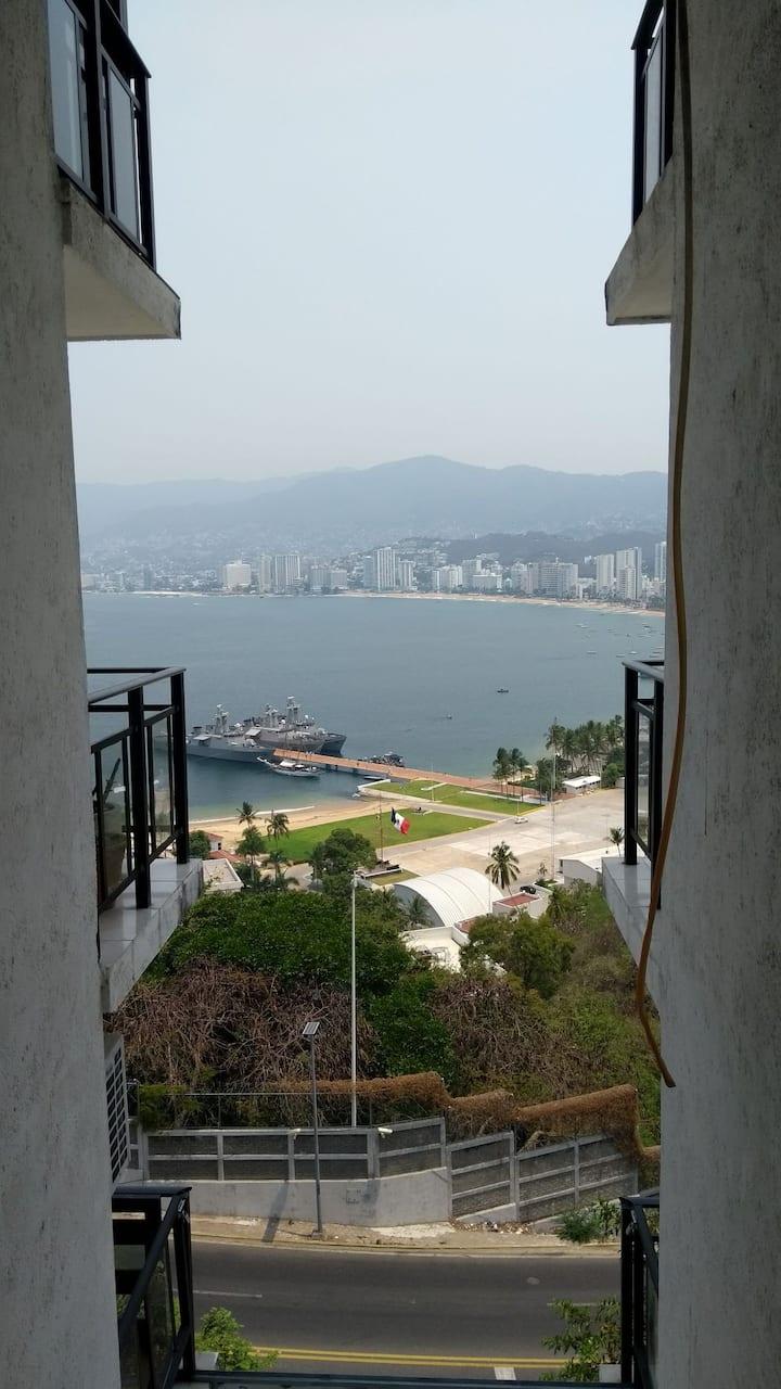 La Mejor Vista a la Bahía Santa Lucía Rento X Día