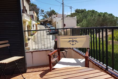 Roca Rubia 3 - nice views, spacious duplex w/ great terrace in calm street