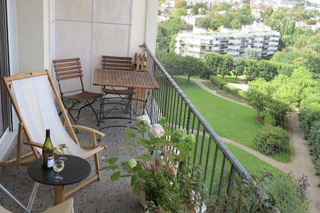 One of best view of Paris flat - Saint-Cloud - Appartamento