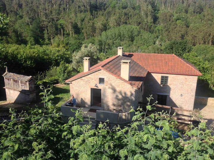 The Roxa House (1), a cottage in Galicia