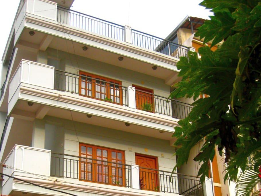 Apartment main block.