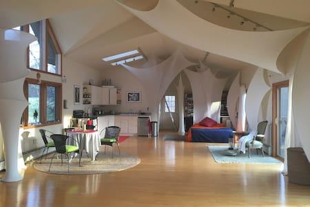 creative wonderous loft house - Ulster Park - Çatı Katı