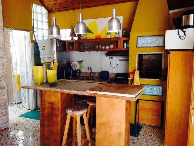Casa na praia de Itaguaçu - São Francisco do Sul - Dom