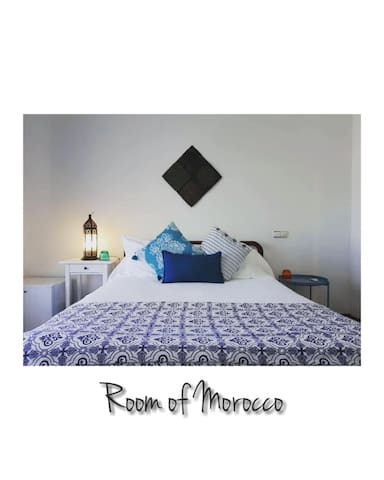 Quarto Marrocos em Moradia Tradicional